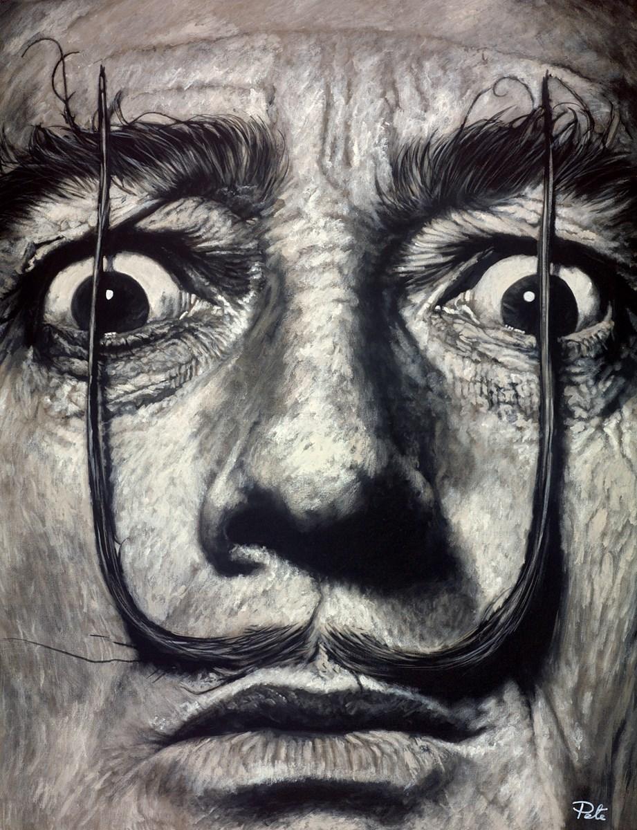 Salvador Dali -Close Up